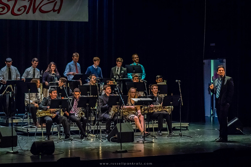 20160402 Bowie Jazz Band I - Temple College Jazz Festival-18