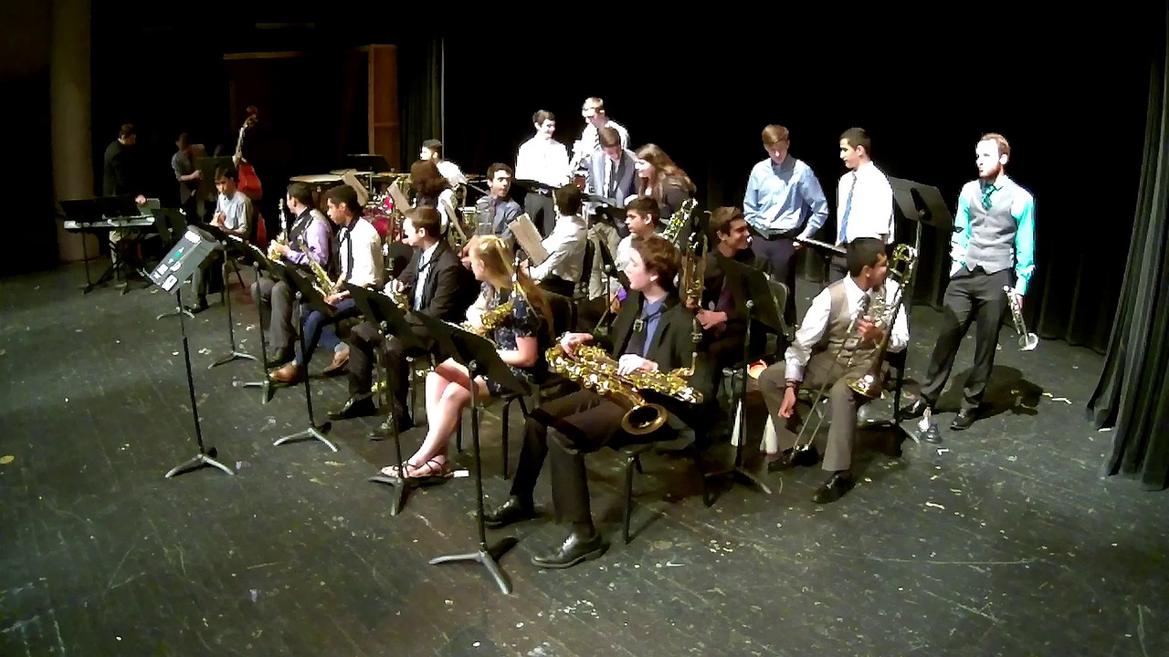 The first three items in this gallery are videos of Jazz Band I. Click on the large image above to get to the video player.