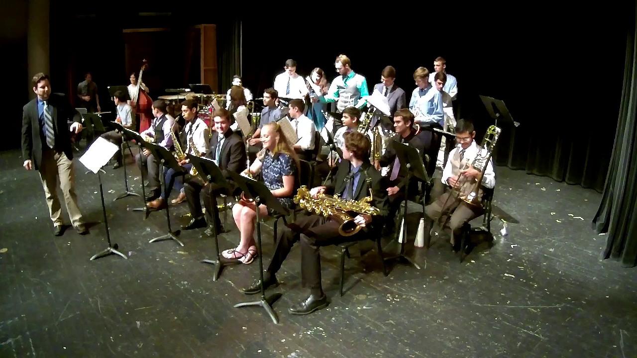 20160523 Bowie Jazz Band I - Sammy Nestico's Hayburner