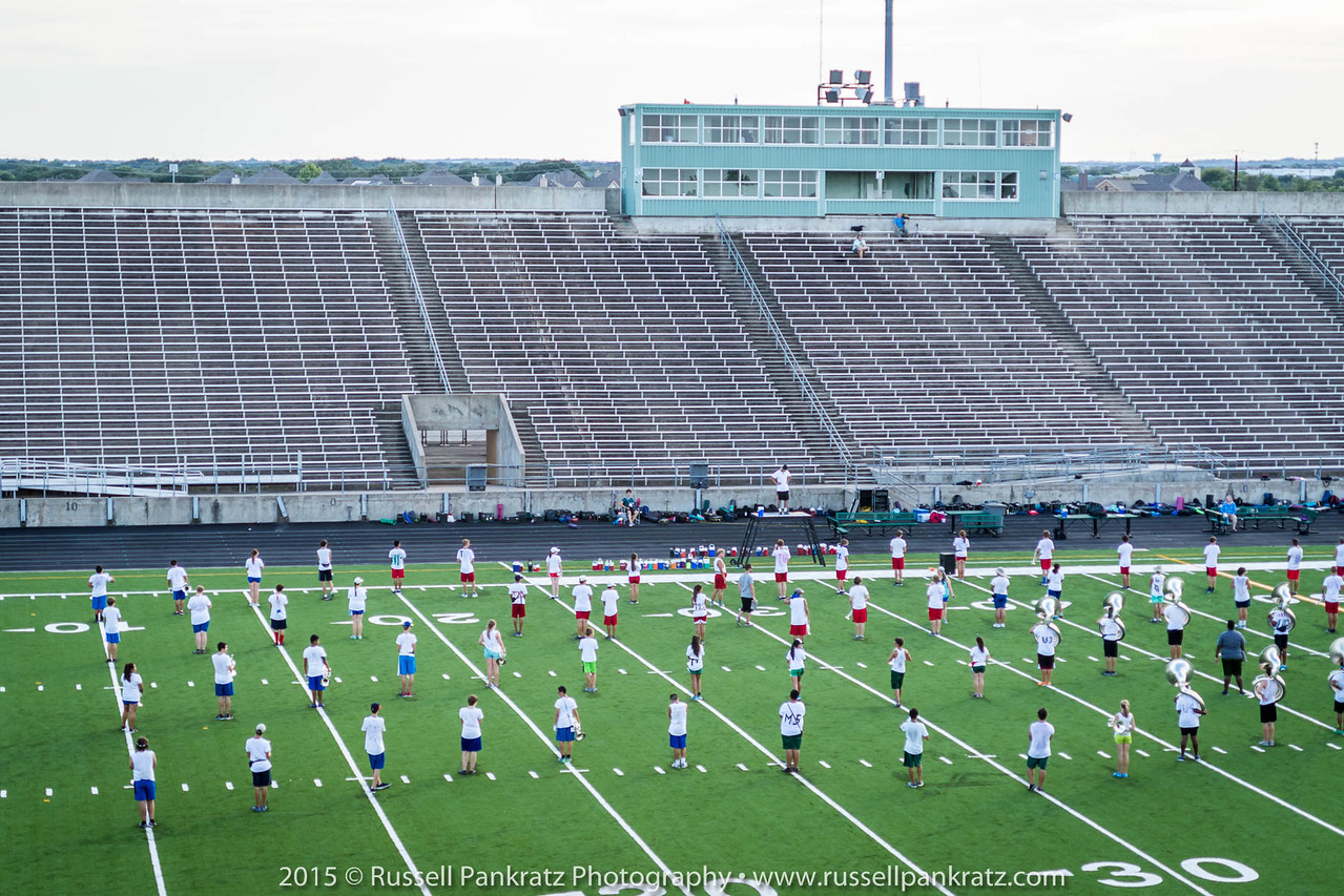 20150824 Marching Practice-1st Day of School-1