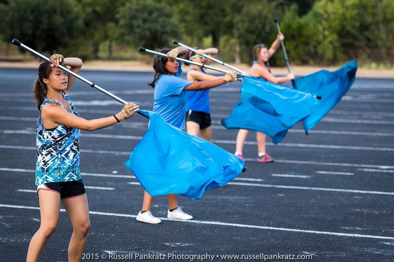 20150824 Marching Practice-1st Day of School-8
