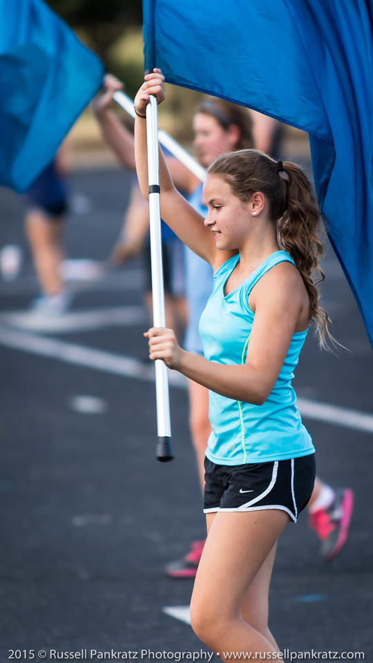 20150824 Marching Practice-1st Day of School-20