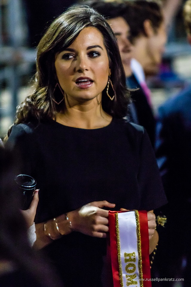 Your 2015 Homecoming Queen. Her mother asked that I capture her crowning this year's new Homecoming Queen.