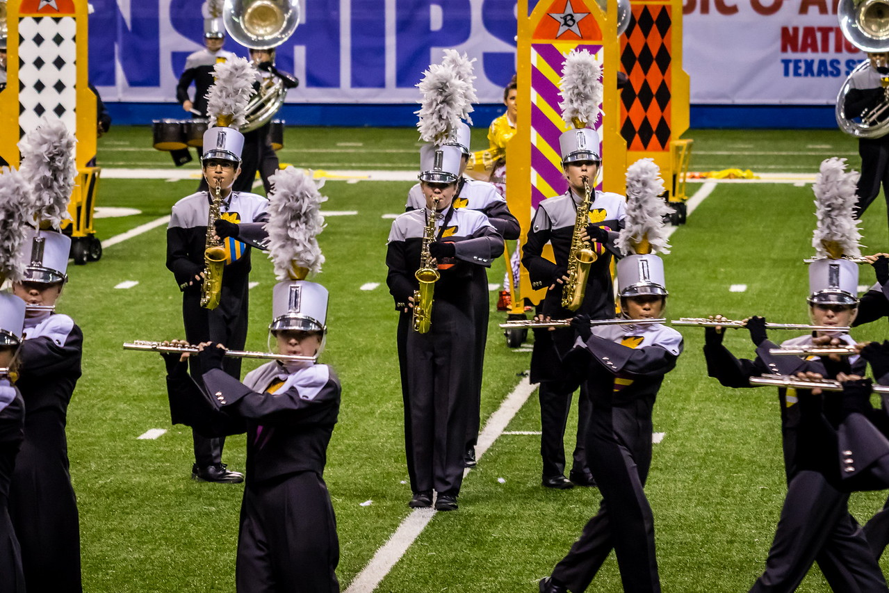 20161108 UIL 6A State Marching Contest-23