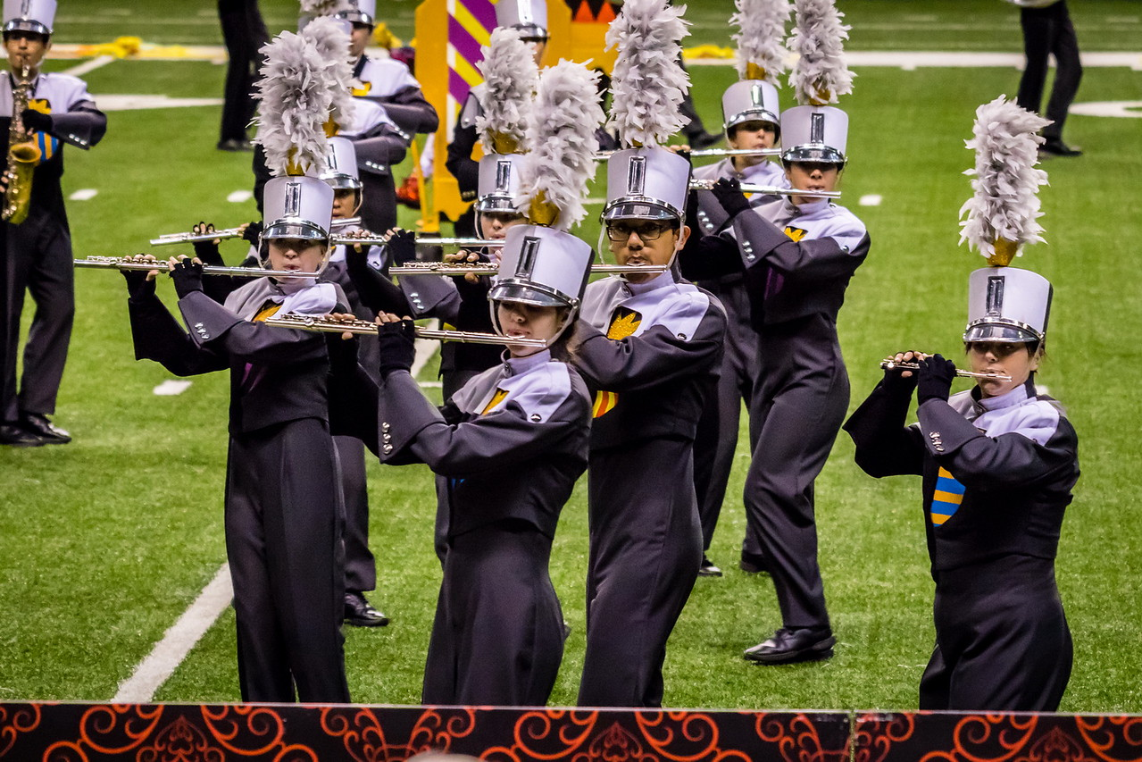 20161108 UIL 6A State Marching Contest-24