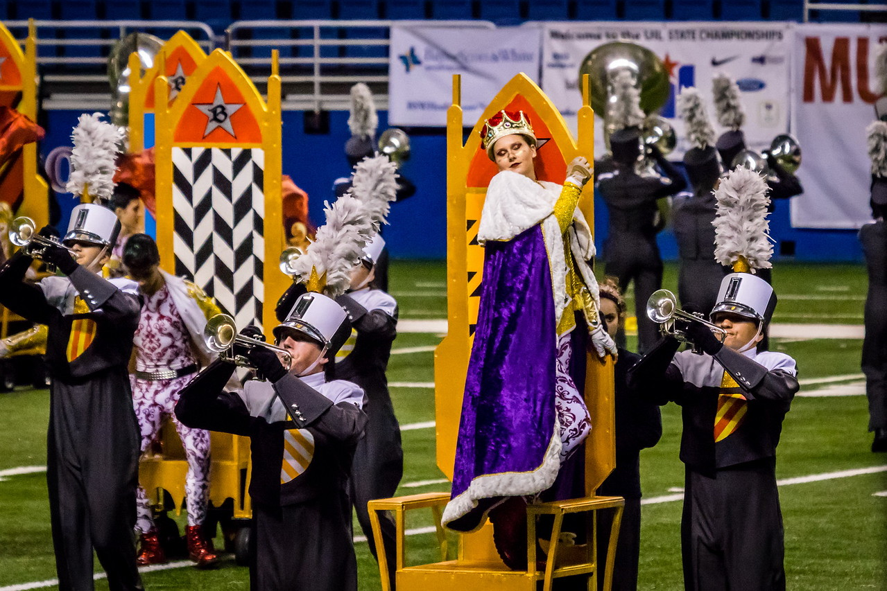 20161108 UIL 6A State Marching Contest-19