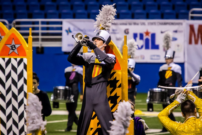 20161108 UIL 6A State Marching Contest-25