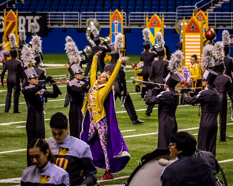 20161108 UIL 6A State Marching Contest-14