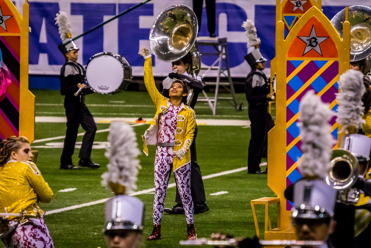 20161108 UIL 6A State Marching Contest-30