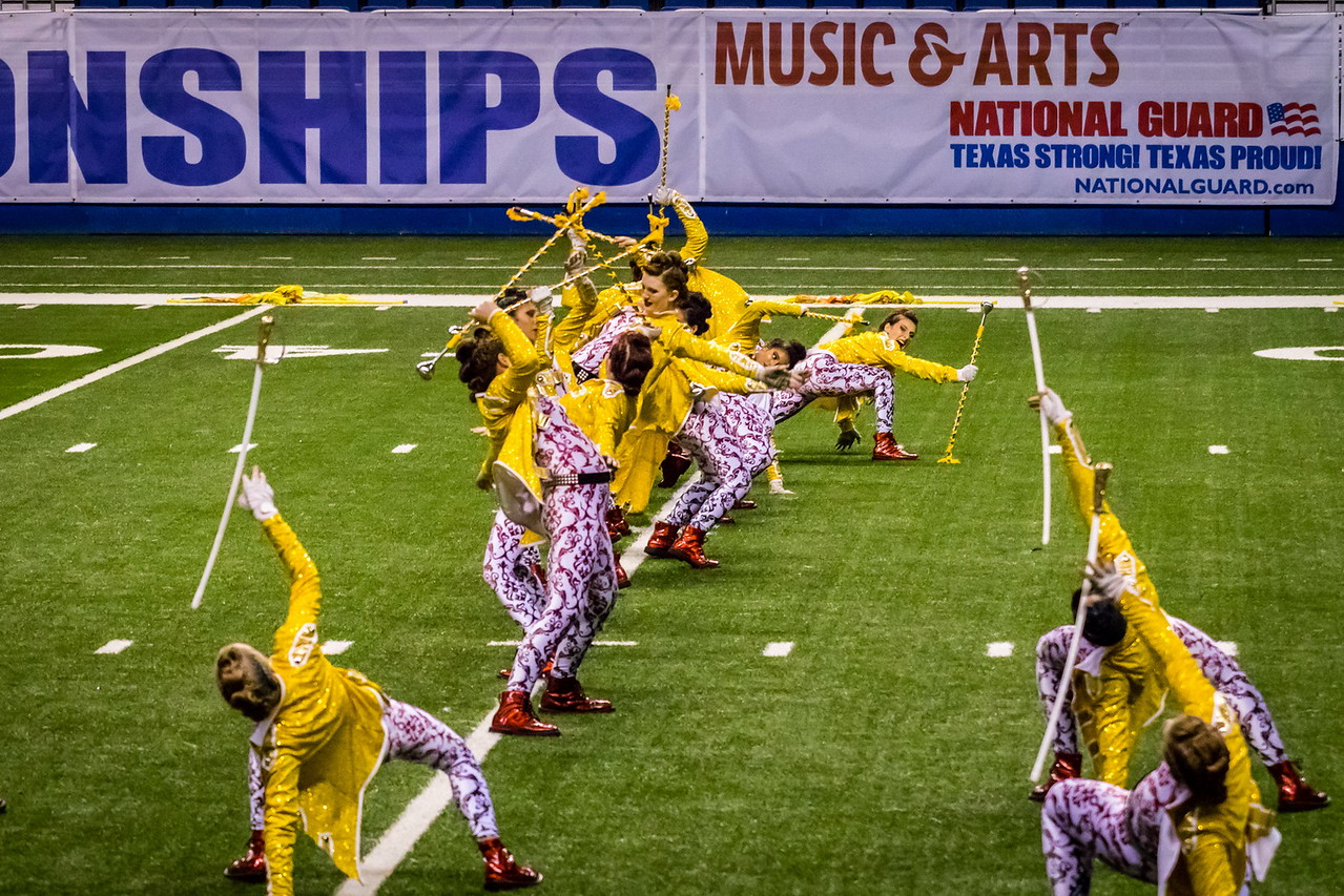 20161108 UIL 6A State Marching Contest-40