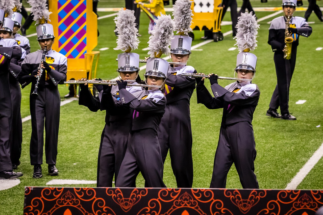 20161108 UIL 6A State Marching Contest-22
