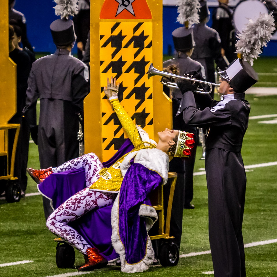 20161108 UIL 6A State Marching Contest-16