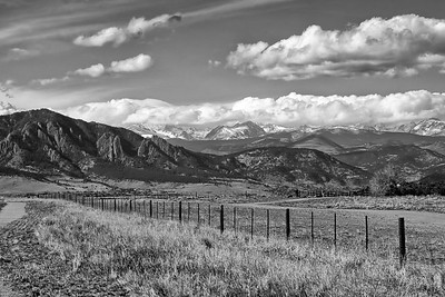 The Flatirons and Indian Peaks