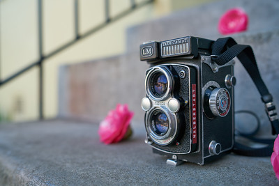 Yashicamat LM Medium Format Film TLR