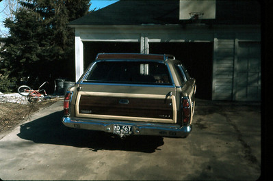 1970 Ford Country Squire, Bloomfield CT, about 1971.
