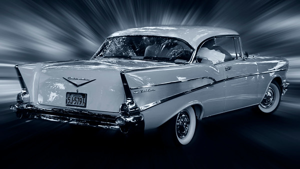 Chevrolet Bel Air colorized