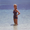1960 - Mom at Nassau. - Kodachrome