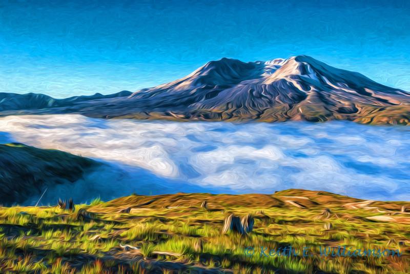 Sunrise, Mount Saint Helens