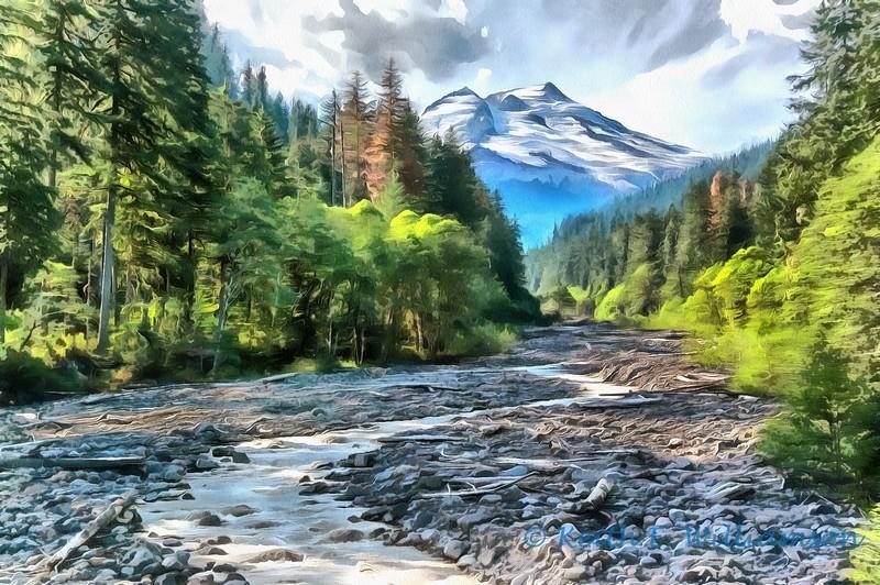Boulder River and Mount Baker