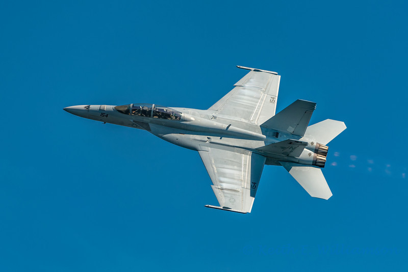 Fighter jet, Seattle airshow