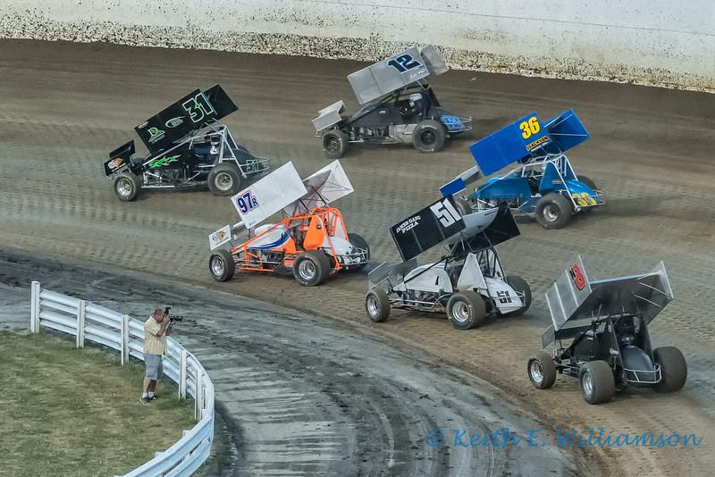 Sprint Car Racing, Skagit Speedway