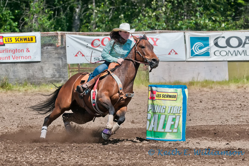 Barrel racing, Darrington Rodeo