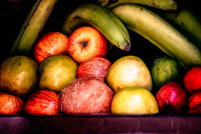 Fruit Quito PAINTING Copyright 2020 Steve Leimberg UnSeenImages Com _DSC5051