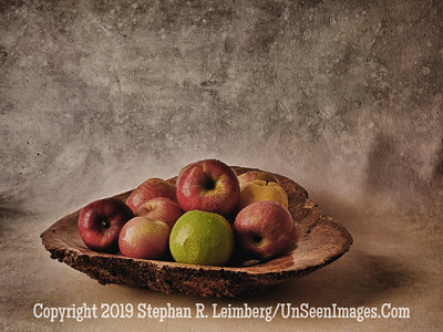 Apples in Bowl A0002808