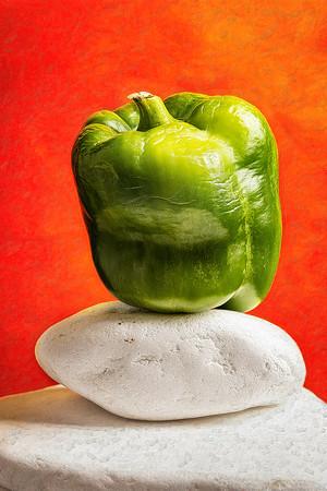 Green Pepper Copyright 2020 Steve Leimberg UnSeenImages Com