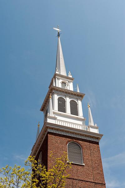 The Old North Church in Boston, MA