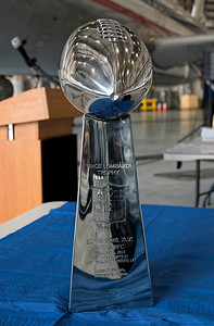 The Vince Lombardy Trophy (Superbowl