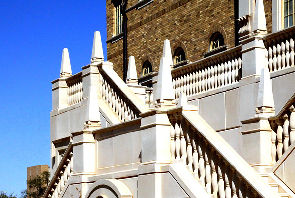 Spanish Renaissance style architecture of Texas Tech