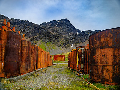 Whale Oil Storage Tanks Copyright 2020 Steve Leimberg UnSeenImages Com