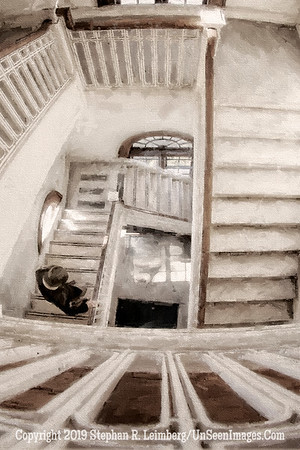 Buddy Going Down - Post Office - Fernandina Beach DETAIL - Copyright 2014 Steve Leimberg - UnSeenImages Com _H1R4012