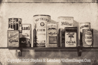 Cocoa - Wilber Bud Store - B&W Copyright 2017 Steve Leimberg UnSeenImages Com L1240921