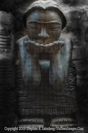 Buddah - PAINTING - Copyright 2018 Steve Leimberg UnSeenImages Com _DSC0907