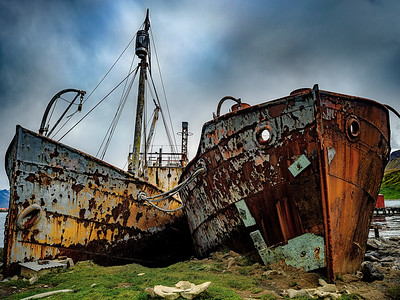 Beached Whaling Ships Copyright 2020 Steve Leimberg UnSeenImages Com _DSF0555