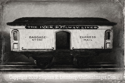 Ives Railway Lines - B&W Copyright 2015 Steve Leimberg - UnSeenImages Com L1000934