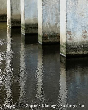 Bridge Pillars - Copyright 2016 Steve Leimberg - UnSeenImages Com L1000106