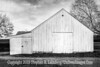 White Barn - PAINTING - B&W Copyright 2017 Steve Leimberg UnSeenImages Com L1250193
