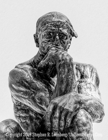 The Thinker Copyright 2017 Steve Leimberg - UnSeenImages Com L1240869