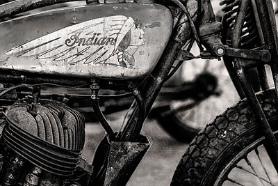 Indian Motorcycle B&W Copyright 2021 Steve Leimberg UnSeenImages Com _DSC1415- copy