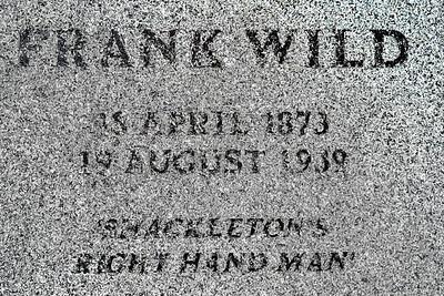 Gravestone of Frank Wild Copyright 2020 Steve Leimberg UnSeenImages Com _DSC1809