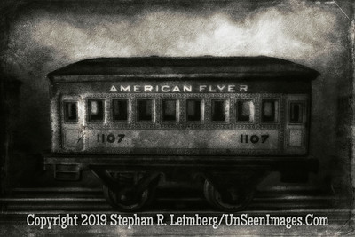 American Flyer 1107 Jim Widerman - B&W II  Copyright 2015 Steve Leimberg - UnSeenImages Com L1000911-1