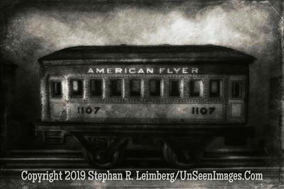 American Flyer 1107 Jim Widerman - B&W II  Copyright 2015 Steve Leimberg - UnSeenImages Com L1000911-1