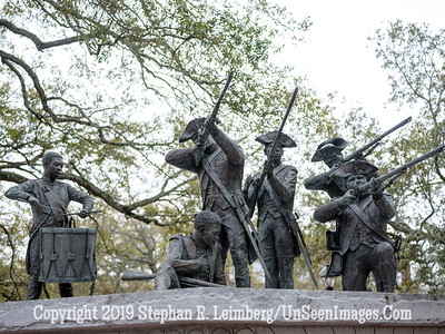 Savannah Soldiers Statue - Copyright 2018 Steve Leimberg UnSeenImages Com _DSF4023
