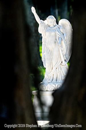 Welcoming Angel - St  Peter's Cemetary - Copyright 2019 Steve Leimberg UnSeenImages Com _DSC1030