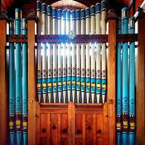 Organ Christ Church Port Stanley Copyright 2020 Steve Leimberg UnSeenImages Com _DSF0052
