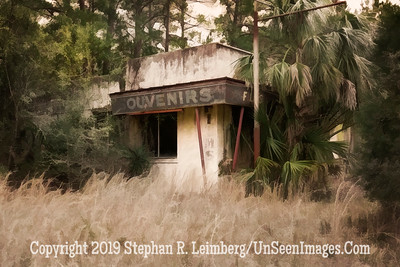 Souvenirs - Rt  17 Near White Oak - PAINTING - Copyright 2017 Steve Leimberg - UnSeenImages Com L1190852