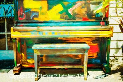 Piano at LuLus - Copyright 2016 Steve Leimberg - UnSeenImages Com L1000556